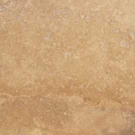 Noce Epoxy Filled Honed Strip Slab Travertine