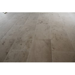 New Botticino Anticato Marble Tile - Tumbled