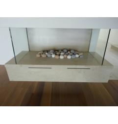 New Botticino Marble Tile - Honed