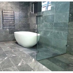 Crystal Grey Honed Marble