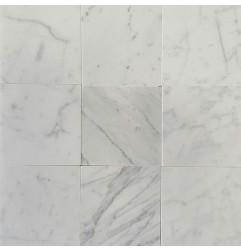 Italian Bianco Carrara C Honed Marble