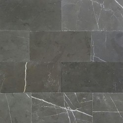 Pietra Grey Subway Honed Limestone