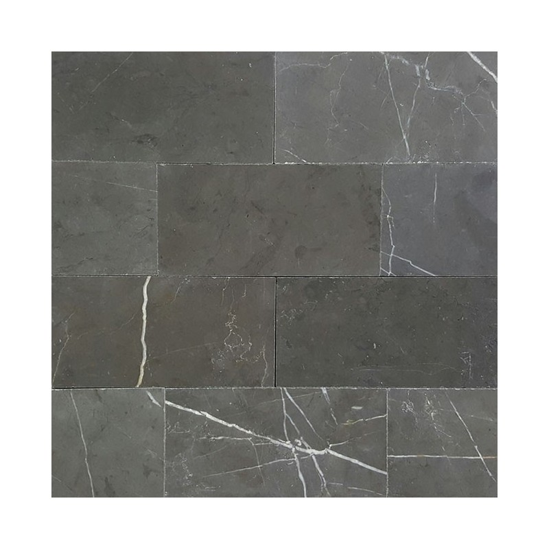 Pietra Grey Subway Honed Limestone
