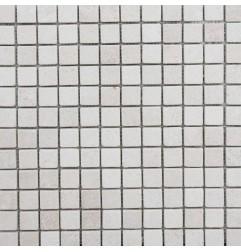 Crema Luminous Tumbled Limestone Mosaic 25x25