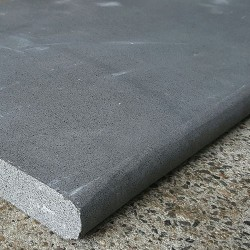 Sawn Bullnose Step Tread Bluestone