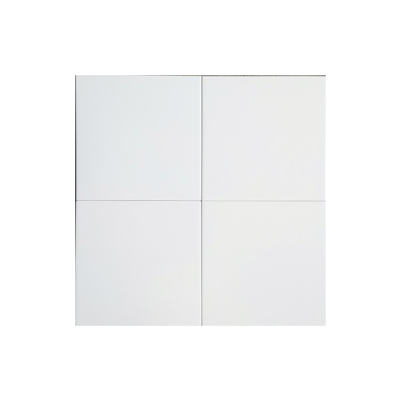 White Matt Non-Rectified Ceramic Tiles 200x200