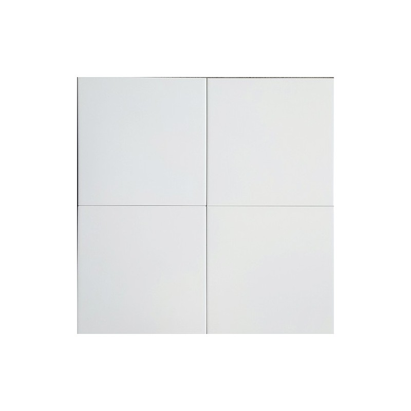 White Gloss Non-Rectified Ceramic Tiles 200x200