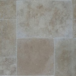 Classico French Pattern Tumbled Tile Travertine