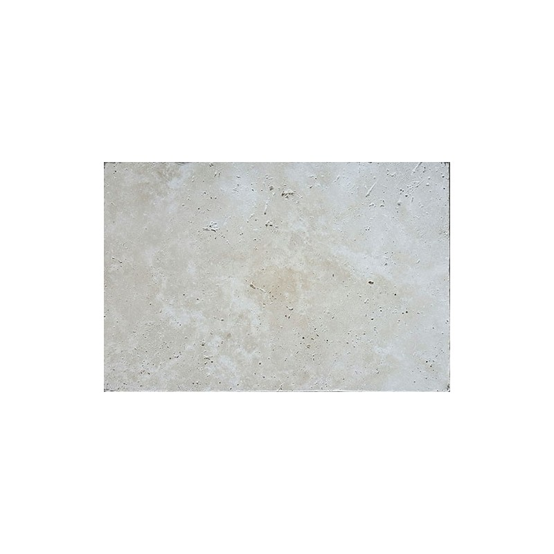 Classico Light French Pattern Tumbled Paver Travertine