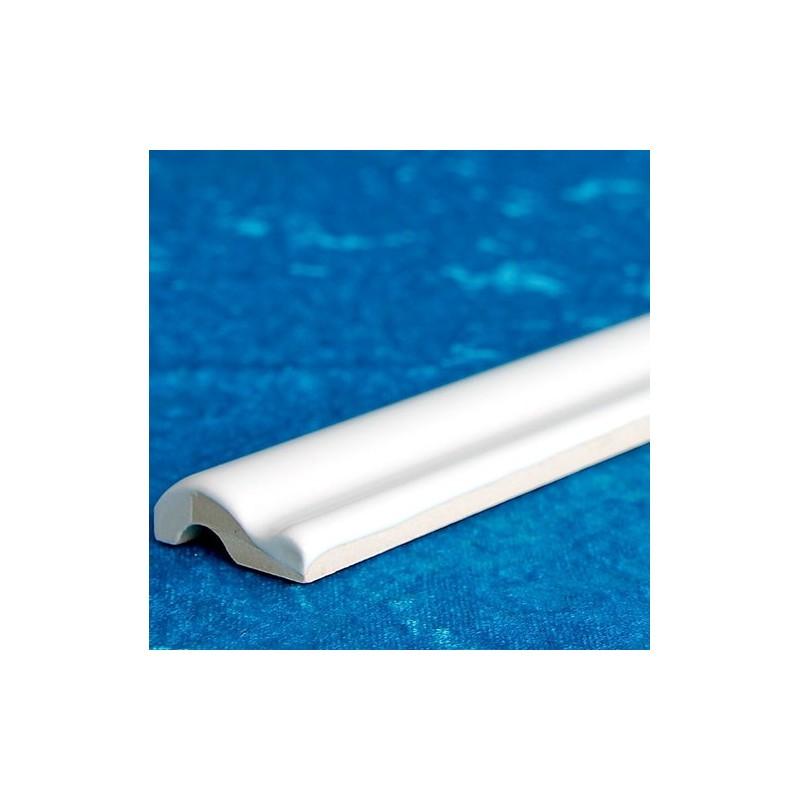 White Gloss Capping Ceramic Tiles
