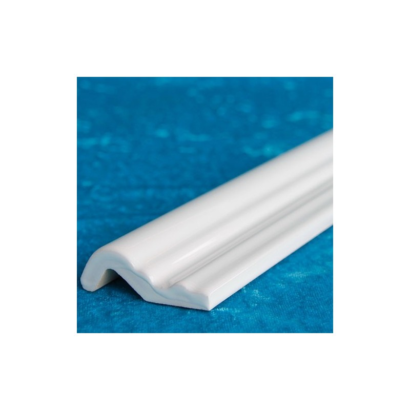 White Gloss Heritage Capping Ceramic Tiles