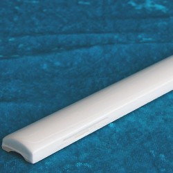 White Gloss Pencil Listello Ceramic Tiles