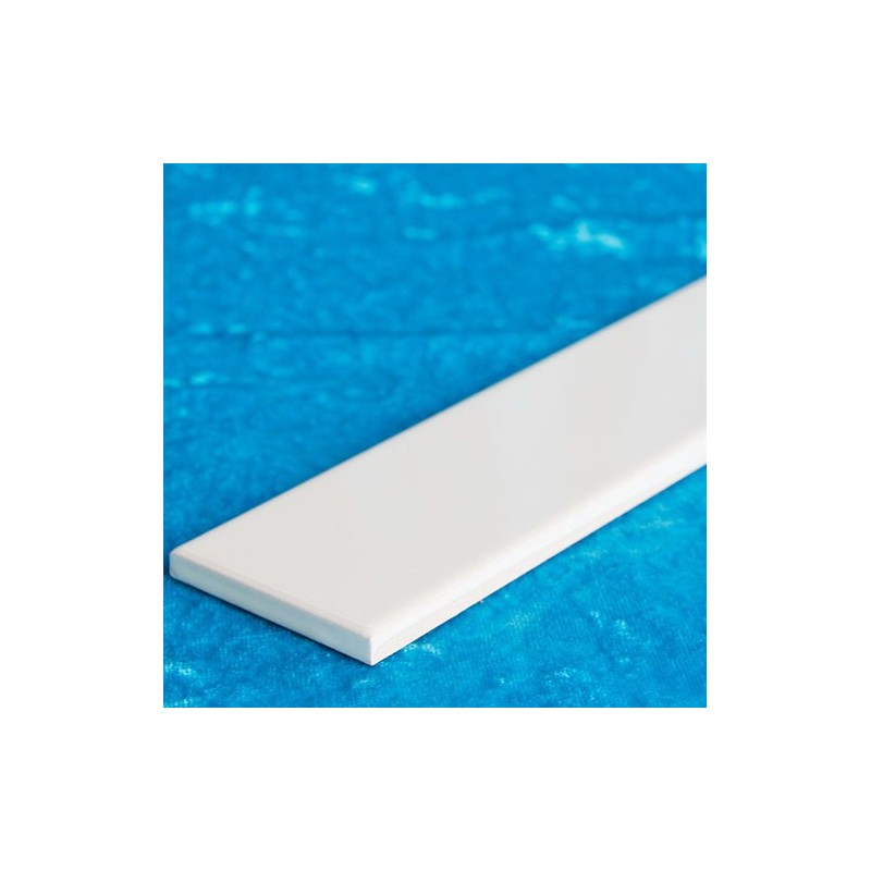 White Gloss Flat Border Ceramic Tiles