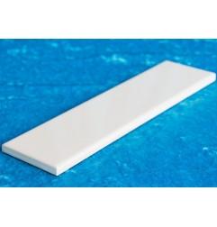 White Gloss Flat Border Ceramic Tiles