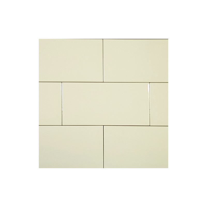 Spanish Huesco Gloss Bevelled Subway Ceramic 200x100