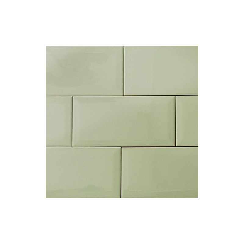 Spanish Alga Gloss Non-Rectified Subway Ceramic 200x100