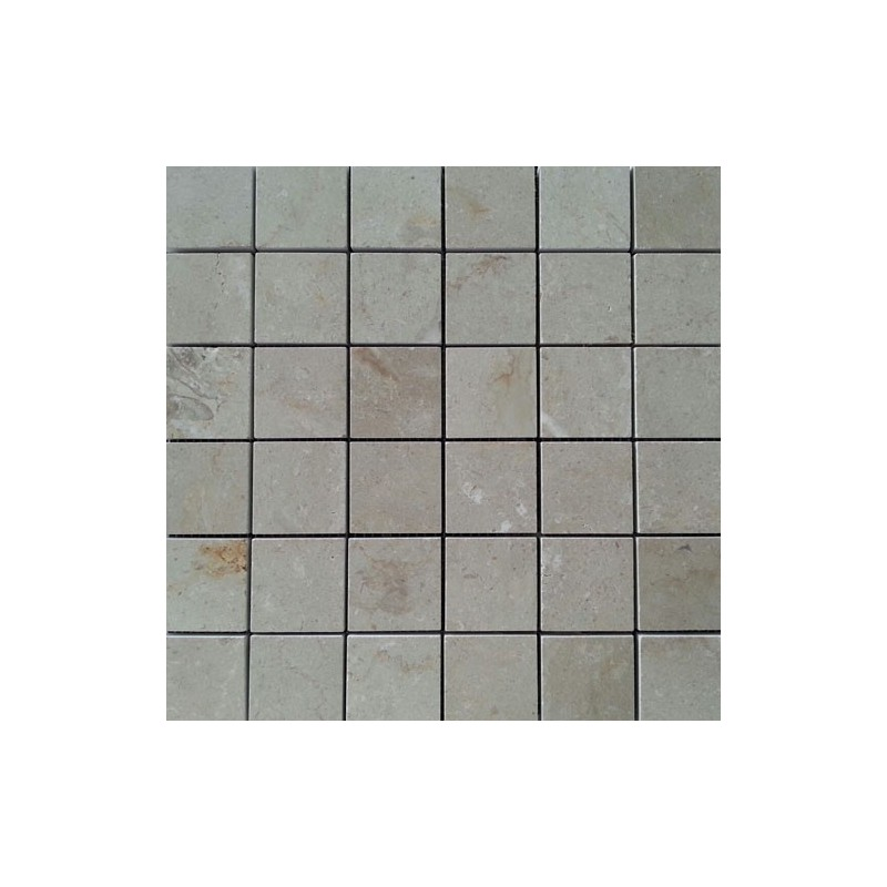 New Botticino Polished Marble Mosaic 50x50