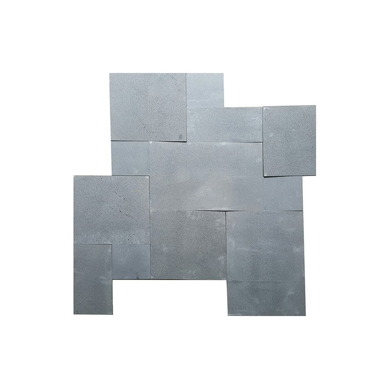Bluestone Sawn French Pattern 20mm