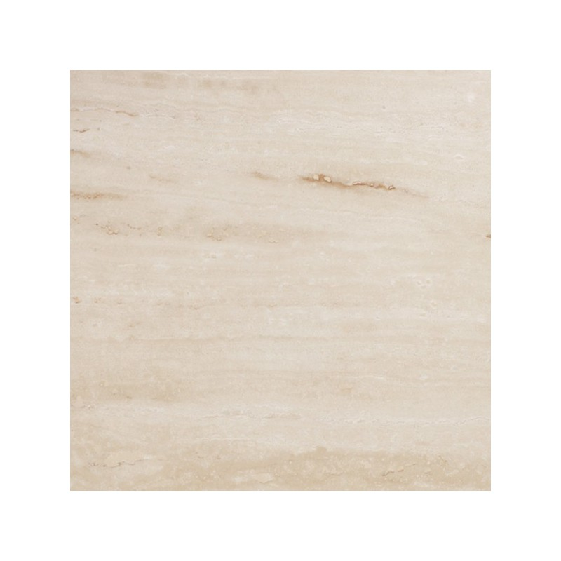 Travertine Chiaro (White) - Vein Cut - Epoxy Filled & Polished
