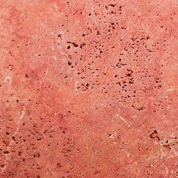 Travertine Rosso (Persian Red) - Cross Cut - Unfilled & Honed