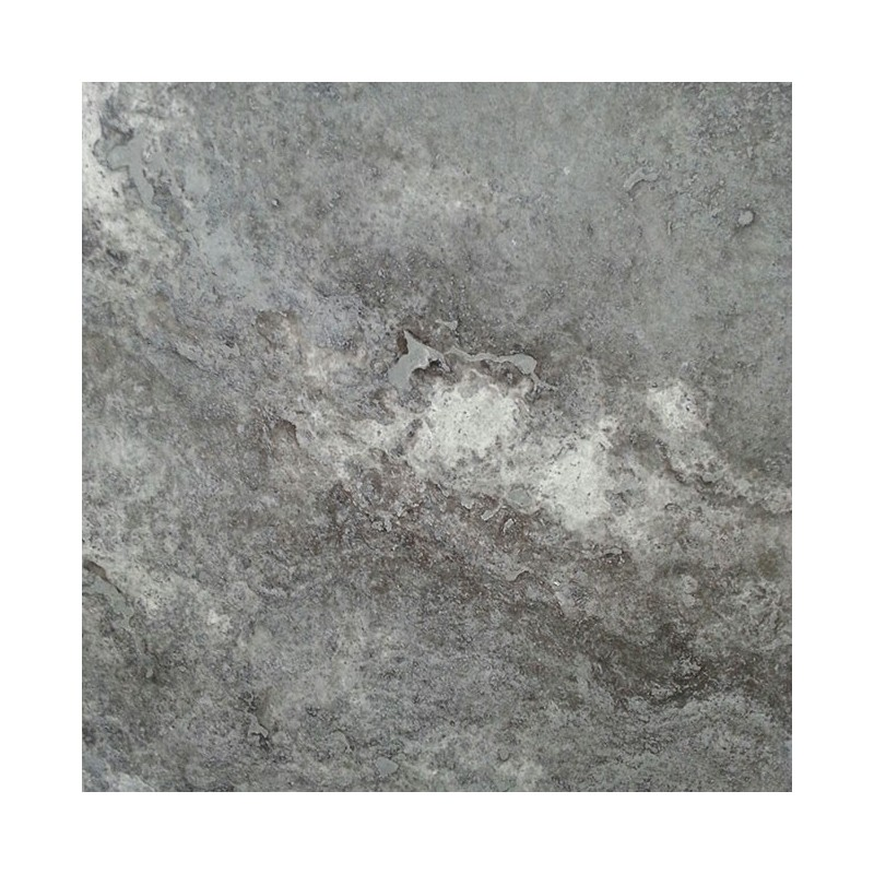 Multicolour Grey Filled Honed Travertine