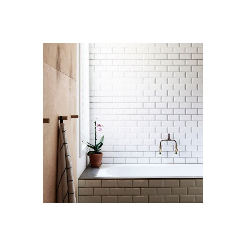 kitchen wall tiles sydney white gloss bevelled subway tile ceramic melbourne stock 6463