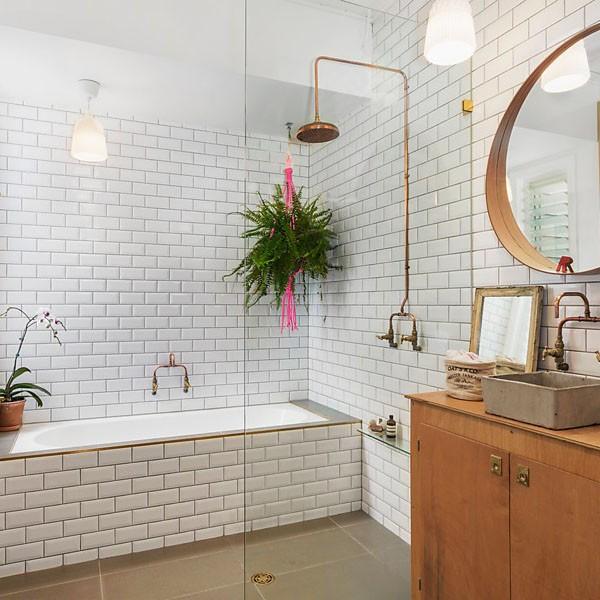 White Gloss Bevelled Subway Tile Ceramic (Sydney Stock)