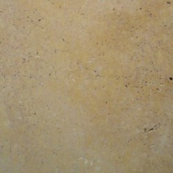 Travertine Gialo (Gold) Anticato - Tumbled