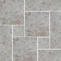 Travertine Noce Tumbled - Cross Cut - French Pattern 300mm