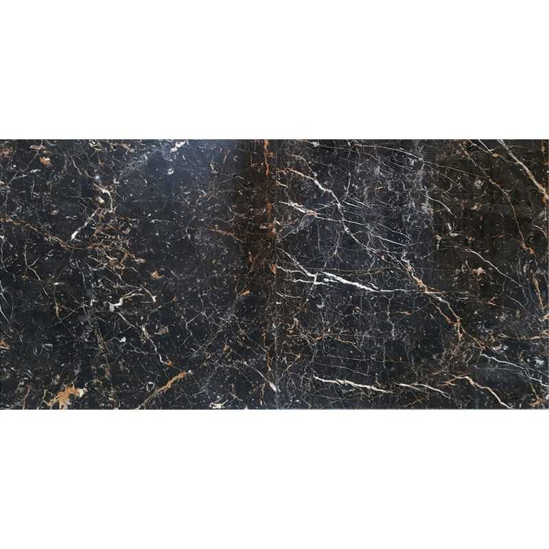 Black And Gold Polished Marble Tiles