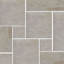 Travertine Classico Tumbled - Cross Cut - French Pattern 30mm