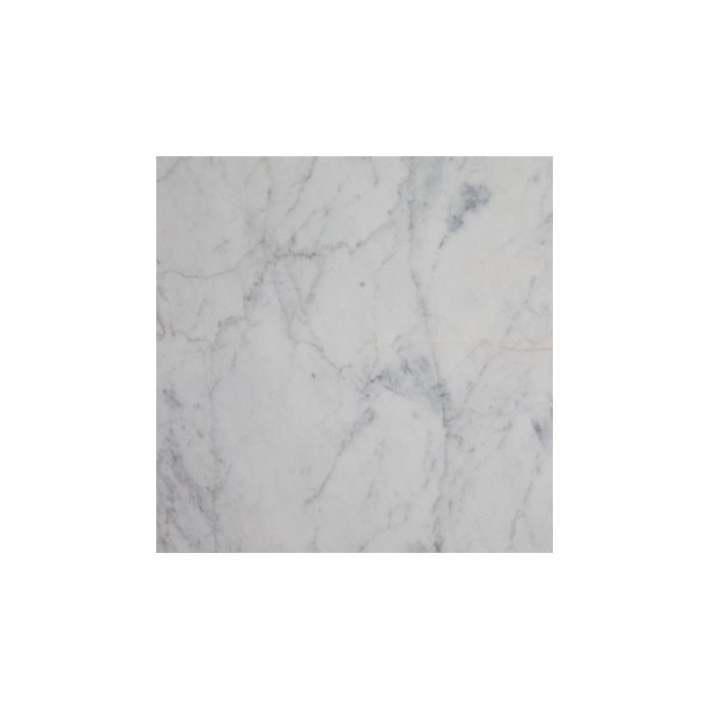 Bianco Carrara Honed Marble Porcelain Backed