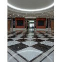 Emperador Dark Polished Marble Porcelain Backed