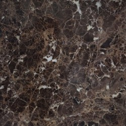 Emperador Dark Honed Marble Porcelain Backed