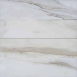Calacatta Oro Gold Honed Subway Marble 305x75