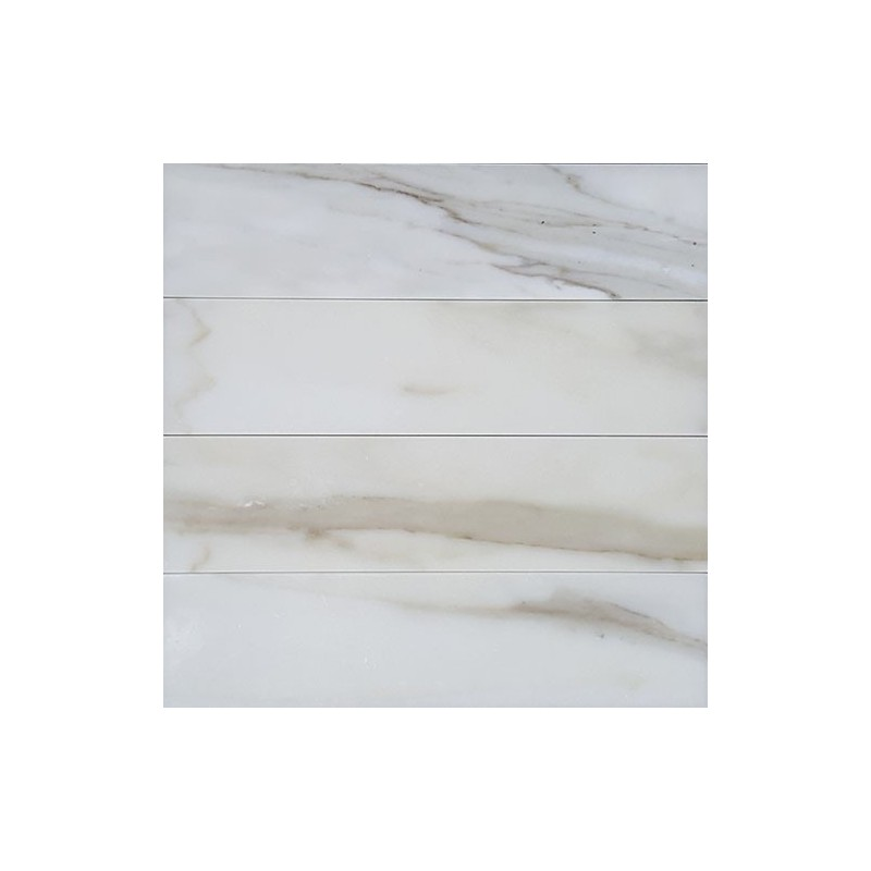 Calacatta Oro Honed Subway Marble 305x75