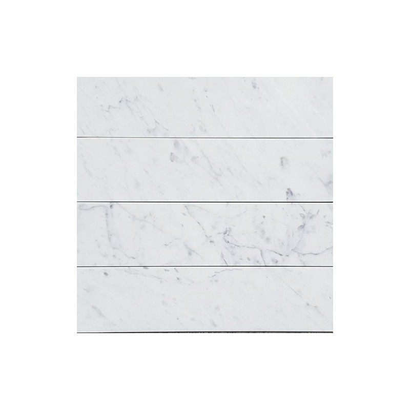 Carrara Honed Subway Marble 305x75