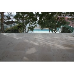 New Botticino Marble Sandblasted Tile
