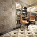 Italian Colonial Dimension Polished Marble Porcelain Backed