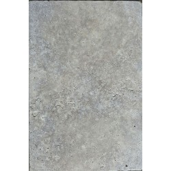 Silver French Pattern Tumbled Tile Travertine