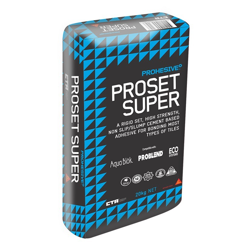 CTA Prohesive Proset Super Adhesive