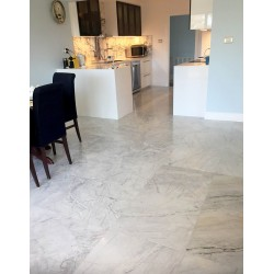 Persian White Honed Marble