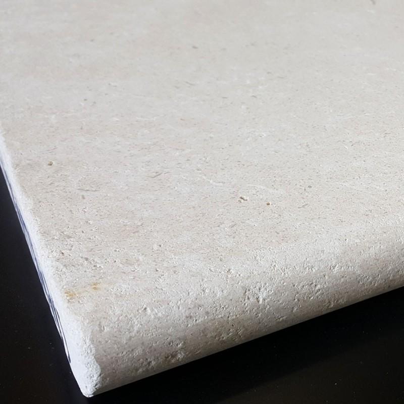 Crema Luminous Tumbled Bullnose Limestone