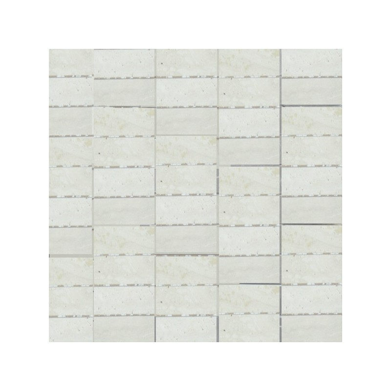 Travertine Chiaro - Unfilled & Honed - Natural Stone Mosaics