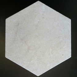 New Botticino Hexagon Tumbled Paver Marble