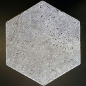 Silver HexagonTumbled Travertine