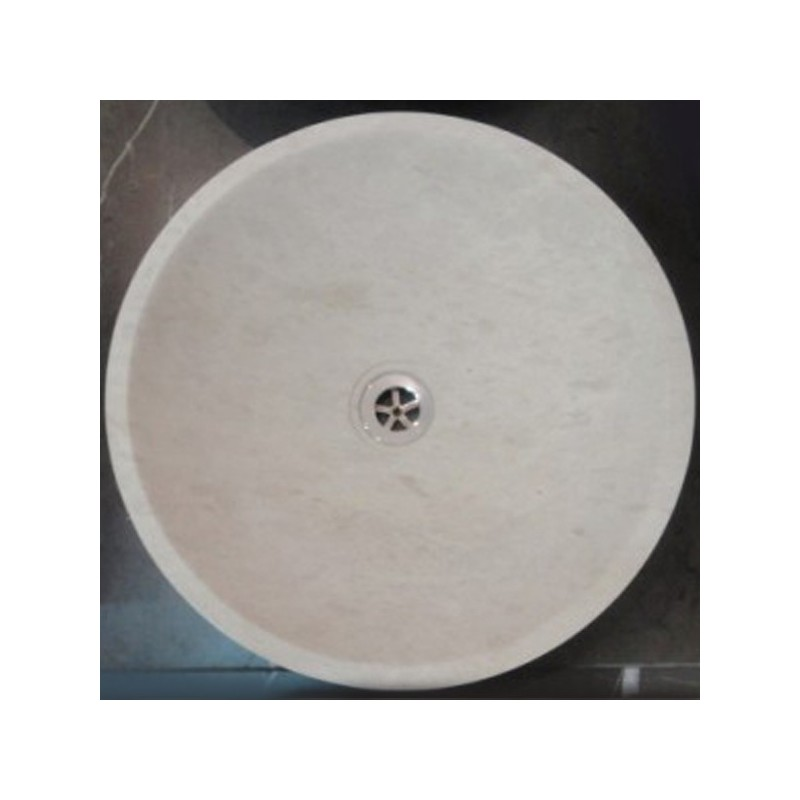 Gohera Limestone - Round Basin - Honed