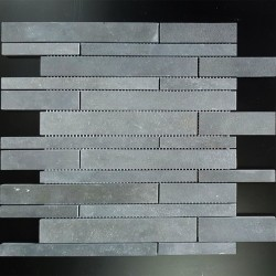 Bluestone Honed Strip Mosaic