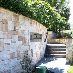 Australian Banded Mix Colonial Split Face Sandstone