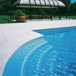 Azure 3- Italian Glass Mosaics Pool Tiles|On Plus System